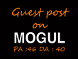 Write & Publish a guest post on Onmogul.com
