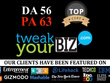 Publish a guest post on TweakYouBiz.com DA 56, PA 63  TweakYouBiz do follow backlink