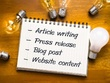 Write a 700 words SEO optimized Article or blog post Post on your WordPress Site