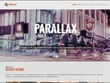Design a one page scrolling parallax Wordpress website with full SEO