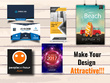 Design your business card/poster/banner/flyer or any kind of design