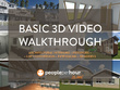 Create a BASIC architectural walkthrough of any interior/exterior