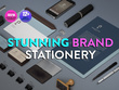 Design stationery for your company
