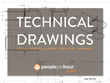 Prepare a professional technical drawing