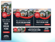 Design Highly Professional Banner Set (Google AdWords)