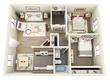 Create 3D Exterior, Residential, Commercial, Houses, kiosks etc..