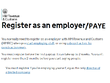 Register your business for PAYE (register as employer with HMRC)