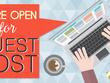 Guest Post on DA50 & PA50 Niche Sites Content Marketing SEO