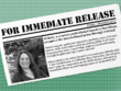 Compose a press release compatible with distribution guidelines