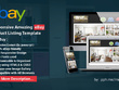 Full Responsive Amuzing eBay Product Listing Template plus free installation