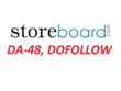 Write and publish a guest post on Storeboard.com (DA-48 , DOFOLLOW)