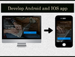 Develop Android and IOS app for website
