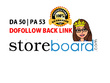 Write a blog on storeboard.com (DA56, PA 53) - Dofollow backlink