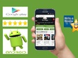 Give 10 android app Depth review with 5 star rating to your App on Google play
