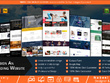 Design an outstanding homepage / landing page / PSD mockup for your website