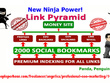 Get you rank top on GOOGLE by High Quality NINJA Pyramid HV. 1 SEO BACKLINKS