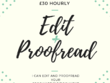I will edit and proofread your eBook/document/article up to 10,000 words
