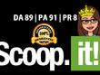 Write a blog on scoop.it  (DA 89, PA 91 PR 8)