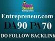 Publish a FEATURED guest post on Entrepreneur.com (DA90, PA70, TF72)