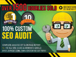 100% custom SEO website audit - fully optimise your websites seo
