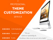 Customize Existing WordPress site based on your Requirement