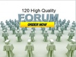 Do 120 High Quality Forum profile back link for your website