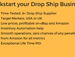 Find tested, profitable drop ship suppliers in USA, UK