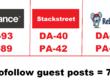 Write & guest post on Rebelmouse(DA71), Stackstreet(DA40) and Behance(DA93) dofollow
