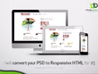 Design a responsive website for you with php