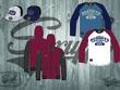 Design a 3 piece a clothing leisure range