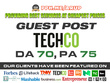 Guest post on Tech | Tech.co | DA70 PA75 TF 35 CF 48 with do follow link