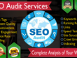 Detailed Website Audit with Competitor Analysis at most Economical price.