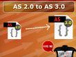 Convert flash AS2.0 coding into  flash AS3.0