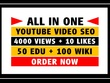All-In-One Professional YouTube Video Marketing and SEO
