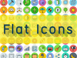 Design 15 amazing flat icons for your business or website