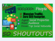 50 Organic Shoutouts to 500,000 Real People on Social Media
