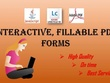 Create Livecycle Interactive PDF Forms