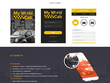 Design a website homepage / landing page & provide you the PSD File & Complete Code