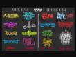 I Will Design DJ, Rock,Black Or Death Metal,Typography Band Logo