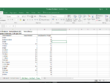 Create an Excel spreadsheet with up to 100 rows of data