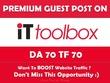 Publish Guest Post on IT Toolbox. IT.Toolbox.com - DA70, TF70