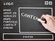 Create professional one page content for your website