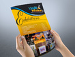 Design a single or double sided flyer and leaflet for you