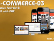 Develop native eCommerce apps with PHP backend