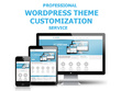 Customize any WordPress theme and design your website