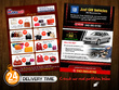 Design double sided flyer and poster