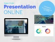 Design a branded online presentation (15 slides) send the URL link to your clients