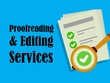 Proofreading & Editing Services 2,000 words