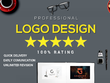 Design your custom company style trends logo with vector & Ai file