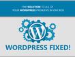 Solve/fix/customize  your any Wordpress Problem